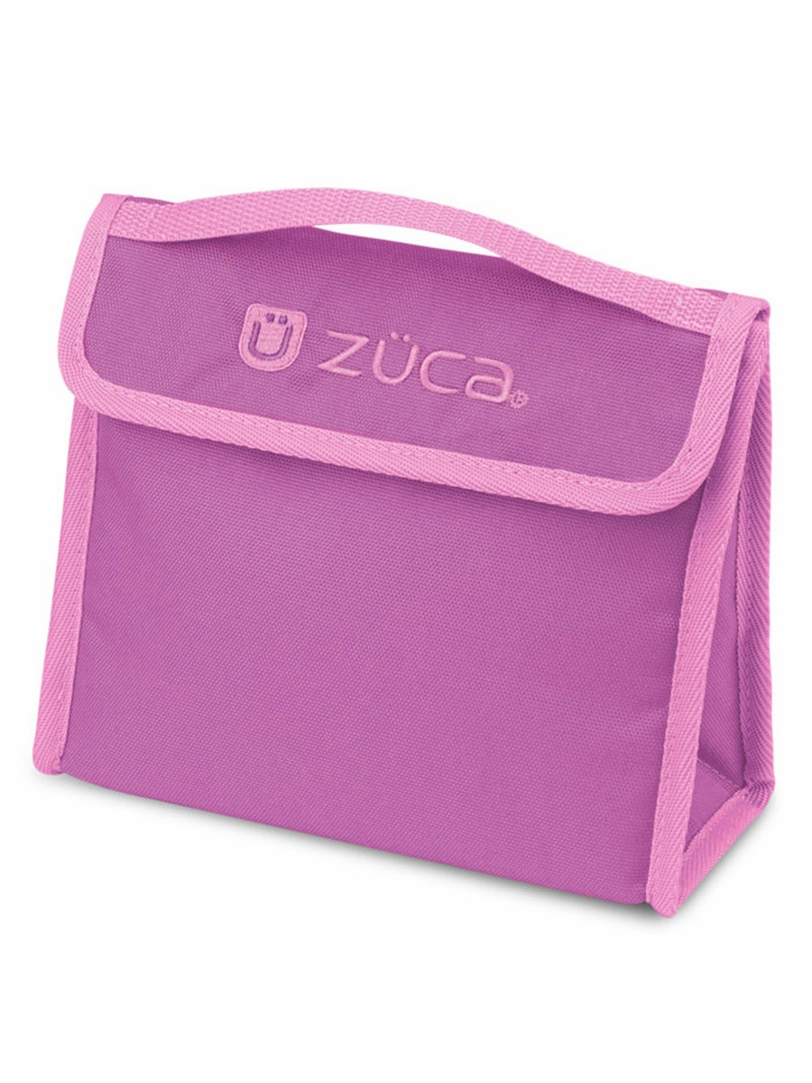Zuca Mini Smile Pink Bag W Pink Snack Pouch Mini Pink