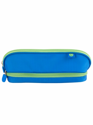 ZUCA Pencil Case - Blue/Green