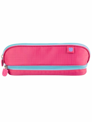ZUCA Pencil Case – Pink/Blue