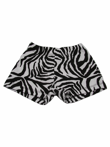 Zebra Animal Print Hot Shorts