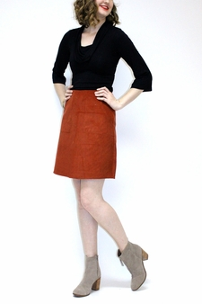 Carey Corduroy Skirt