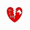 "Doberman ""Heartbreak of DCM"" Decal"