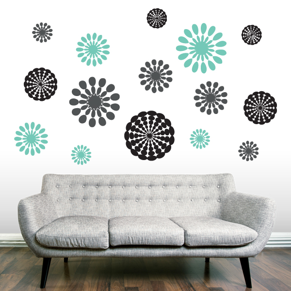 Abstract Wall Decals 2017 Grasscloth Wallpaper
