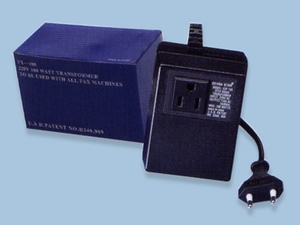 220V Transformer 200 watt for Fax Machines To Use Overseas