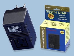50 Watt Voltage Converter To Use Overseas