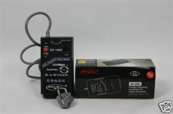 500 Watt (SF-500) Fully Automatic Up/Down Converter with Safety Braker