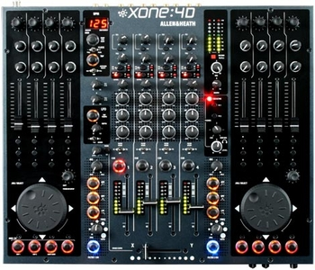 Allen & Heath Xone 4D DJ Mixer - Free Shipping