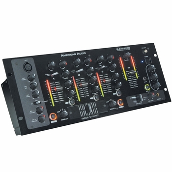 "American Audio Q-2422 Pro 19"" Rack Mount Mixer"