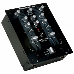 American Audio Q-D1 MKII Pro Preamp Mixer