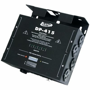 American DJ DP-415 Compact 4-Channel DMX Dimmer