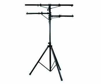 American DJ LTS-1 12ft Heavy Duty Black Tripod Stand with 2 Side Bars
