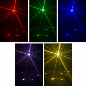 American DJ Mini Tri Ball LED Effects Lighting