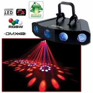 American DJ Quad Gem DMX Effects Lighting