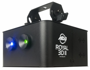 American DJ Royal 3D II Projection Lighting Effect