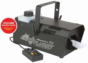 American DJ Snow Flurry Snow Machine - IN STOCK READY TO SHIP