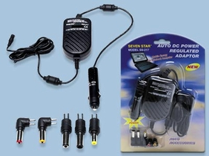 Auto DC Power Regulated Adapter