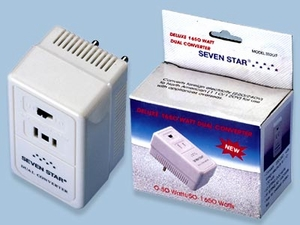 Dual Voltage Converter 2 In 1 To Use Overseas