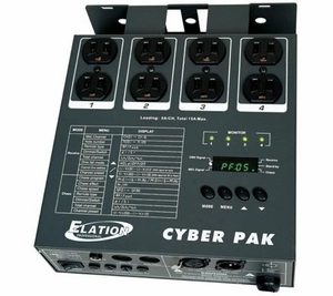 Elation Cyber Pak 4-Channel Dimmer / Power Pack