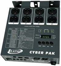 Elation Cyber Pak 4-Channel DMX Dimmer
