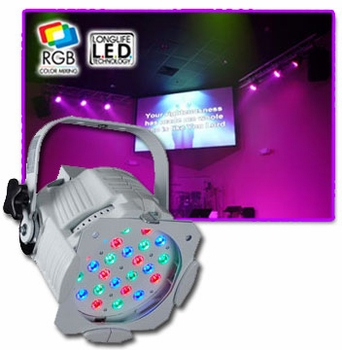 Elation Opti RGB Wh LED Fixtures