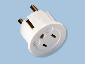 Grounding Round Pin European Plug