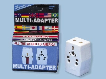 Multi Adapter - For Use In USA
