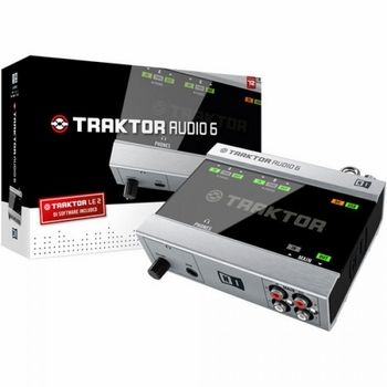 Native Instruments Traktor Audio 6 DJ Audio Interface Free Shipping