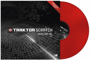 Native Instruments Traktor Scratch Pro Control Vinyl Mk2 Red
