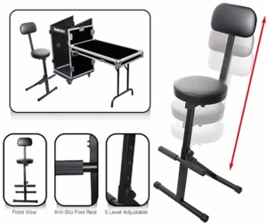 Odyssey Adjustable Heights DJ Chair