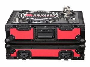 Odyssey FR1200BKRED Turntable Case
