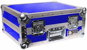 Odyssey FTT BLU Turntable Case (Blue) Custom Case