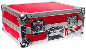 Odyssey FTT RED Turntable Case (Red) Custom Case