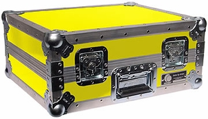 Odyssey FTT YEL Turntable Case (Yellow) Custom Case