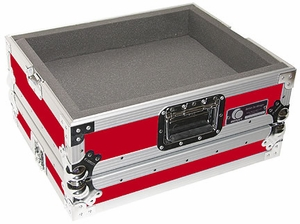 Odyssey FTTX RED Flight Style Turntable Case (Red)