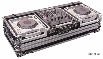 Odyssey FZ12CDJW CD DJ Coffin w/ Wheels