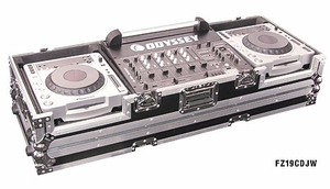 Odyssey FZ19CDJW CD DJ Coffin w/ Wheels