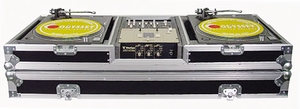 Odyssey FZBM10W Turntable Coffin w/ Wheels