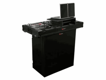 Odyssey FZF3336BL Black Label Foldable DJ Stand