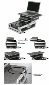 Odyssey FZGS10MIX Glide Style Mixer Case