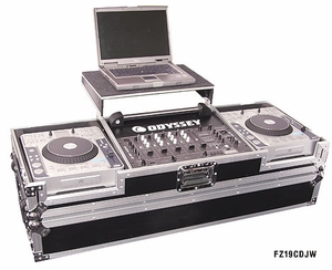 Odyssey FZGS19CDJW DJ Coffin w/ Wheels
