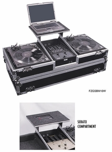 Odyssey FZGSBM10W DJ Coffin w/ Wheels