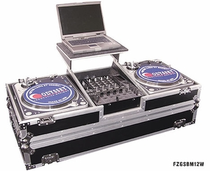 Odyssey FZGSBM12W DJ Coffin w/ Wheels