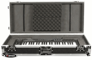 Odyssey FZKB49W Keyboard Case w/ Wheels