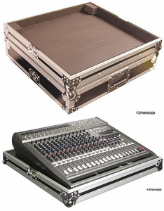 Odyssey FZPMH5000 Behringer Powered Mixer Case