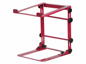 Odyssey LSTANDM Red DJ Stand for Laptop/CD Player/Controller