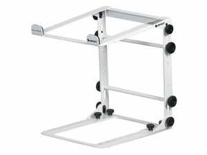 Odyssey LSTANDM White DJ Stand for Laptop/CD Player/Controller