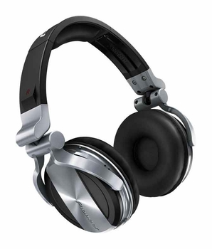 Pioneer HDJ-1500 Advanced Professional DJ Headphones (Silver)