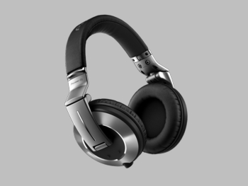 Pioneer HDJ-2000MK2-S, High-end, Pro-DJ monitoring headphones (silver)