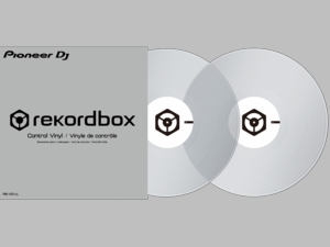 Pioneer RB-VD1-CL Clear Vinyl/Record