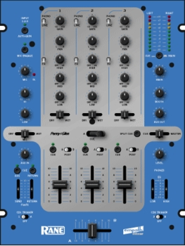 Rane Empath Touring/Club Mixer Blue - Free Shipping